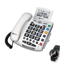 Geemarc Emergency Phone and Bracelet
